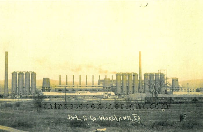 Jones and Laughlin Aliquippa Works Steel Mill