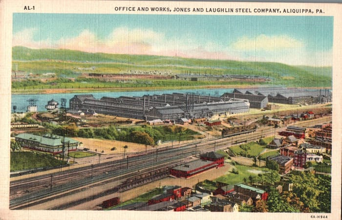 Aliquippa Works Steel Mill
