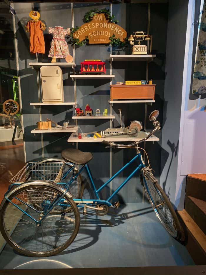 Items from the Mister Rogers Neighborhood of Make Believe Show