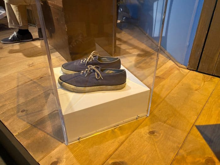 These Sperry sneakers were ones that Fred Rogers actually wore on the show.