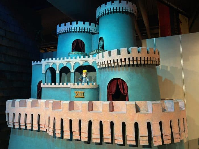 King Friday's castle from the television show