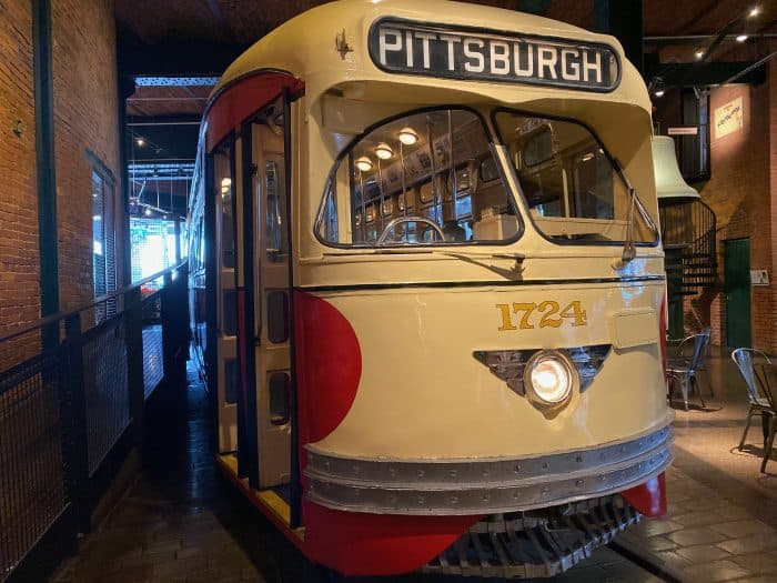 Pittsburgh Streetcar at Heinz History Center