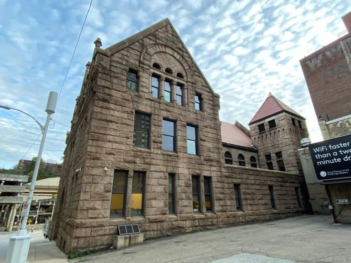Allegheny County Morgue Side View