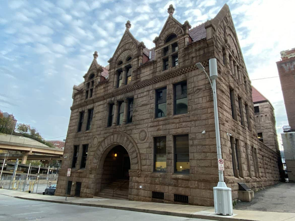 The Former Allegheny County Morgue