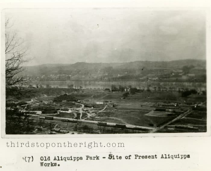 Demolition of Aliquippa Park to Make Way for the Aliquippa Works