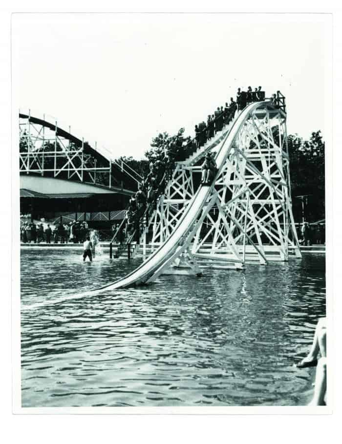 Slide at Ivyside Park Pool