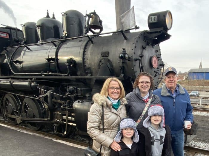 Family Experience at the Everett Railroad
