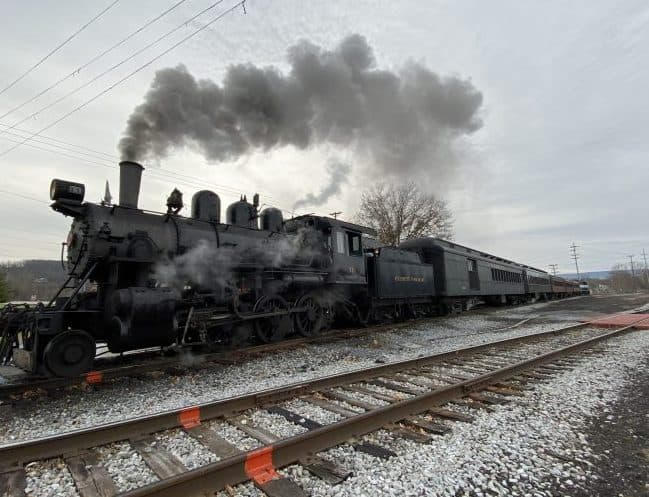 Everett Railroad Steam Engine #11