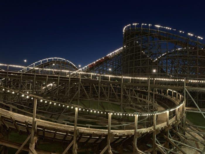 Hershey Park Wildcat Roller coaster