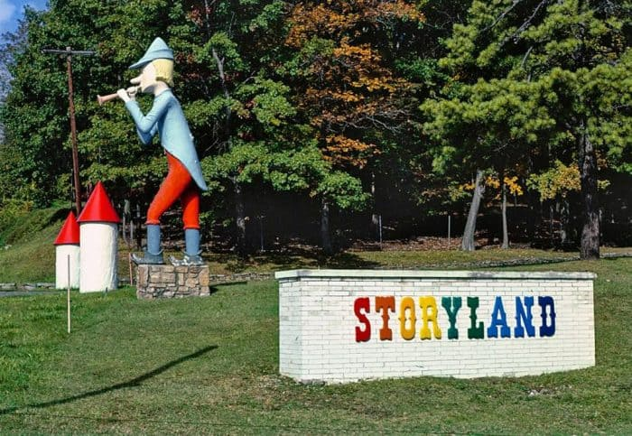 Storyland Road Sign