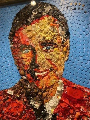 Mixed Media Portrait Fred Rogers