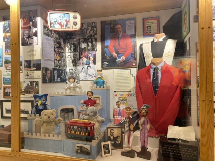 Fred Rogers Display at Greater Latrobe Senior High School