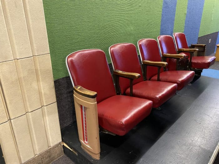 Art Deco Theatre Seats