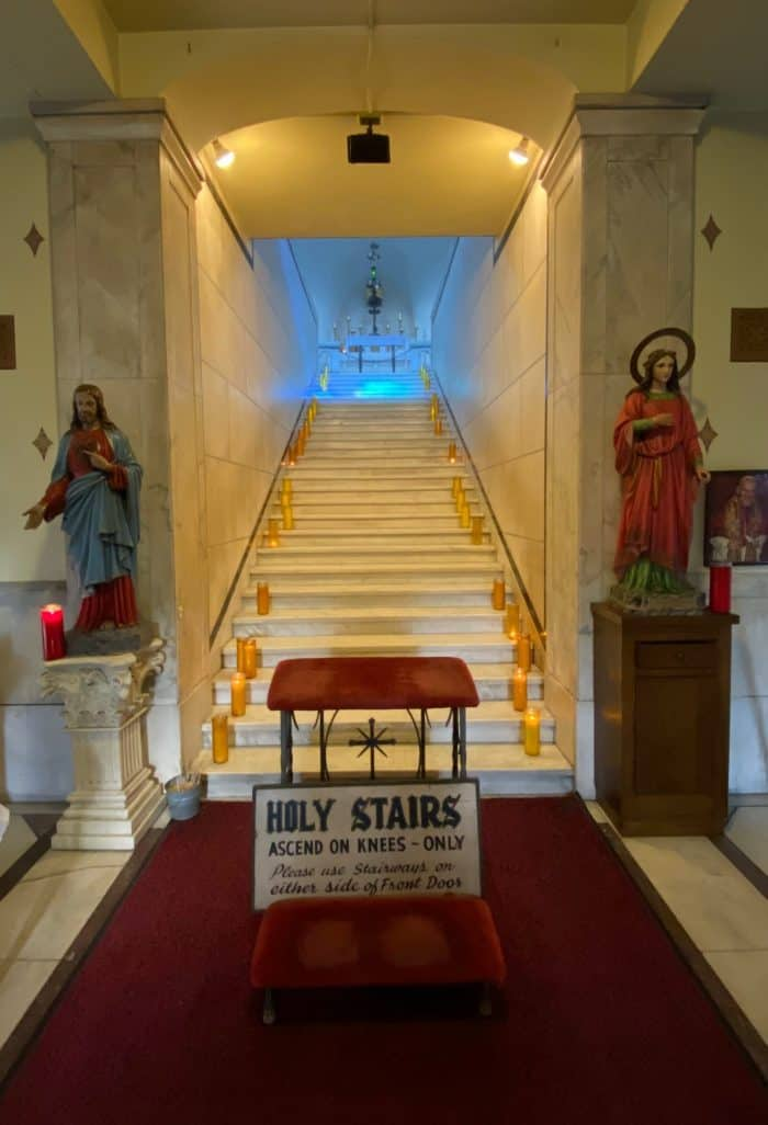 Pittsburgh's Holy Stairs