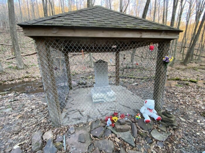 Lost Children of the Alleghenies Monument